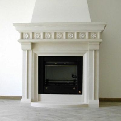 caminetti in marmo realizzati dalla ditta elia marmi a L'Aquila